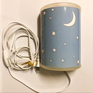 Children's Stars and Moon Wall Light